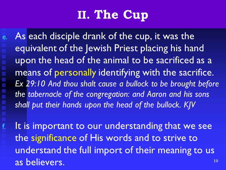 10 II. The Cup e.