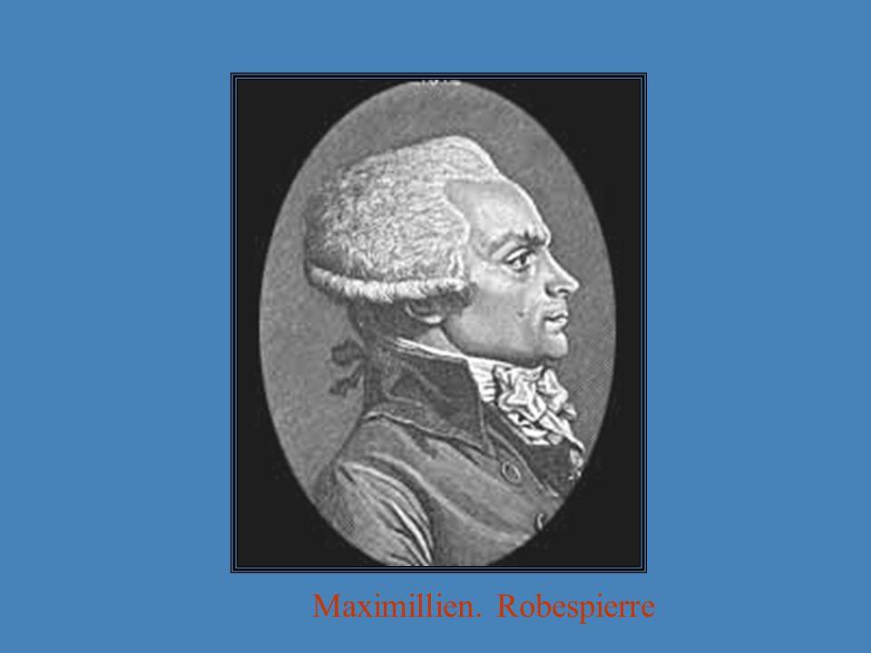 Maximillien. Robespierre