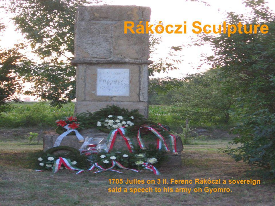 Rákóczi Sculpture 1705 Julies on 3 II.