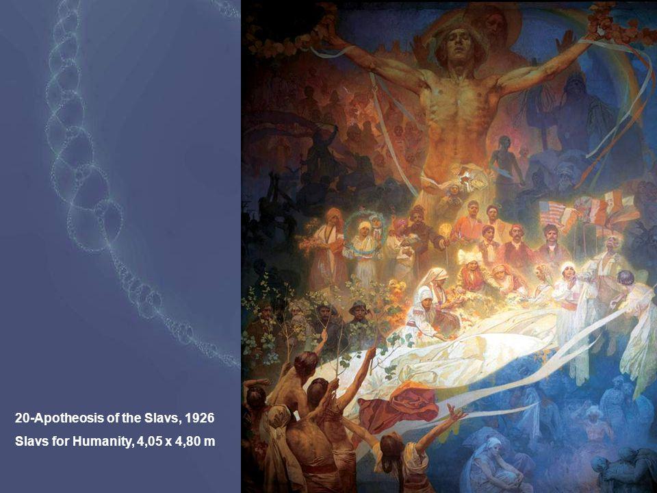 20-Apotheosis of the Slavs, 1926 Slavs for Humanity, 4,05 x 4,80 m