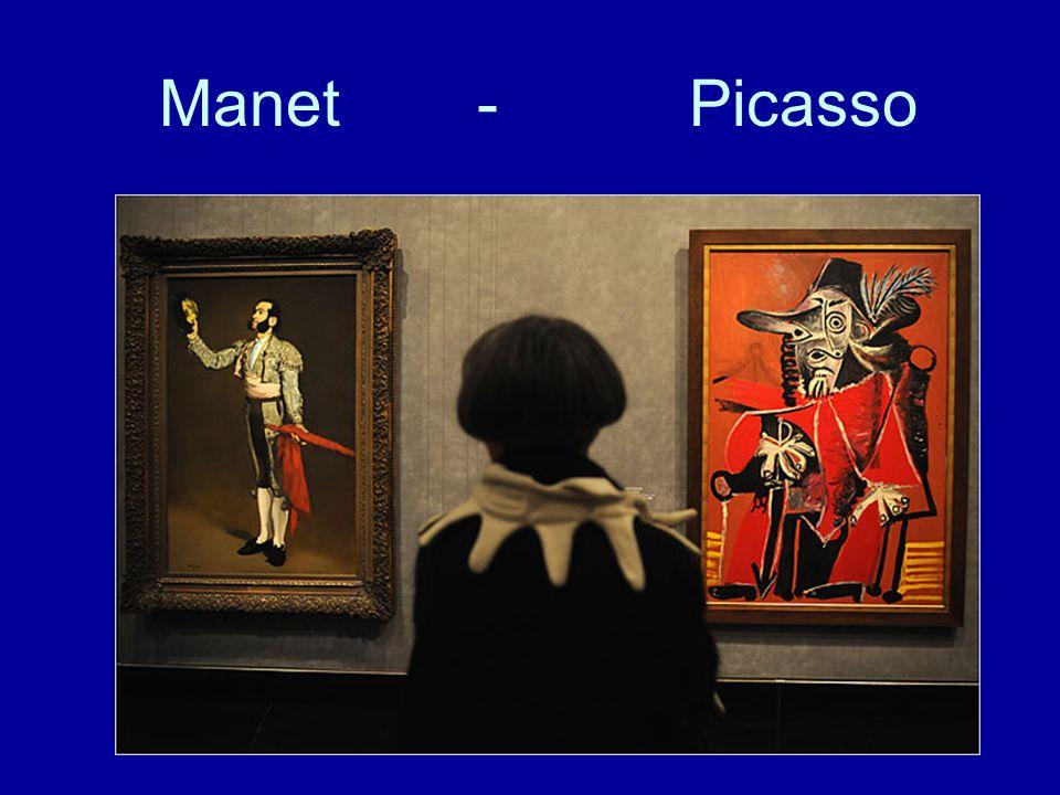 Manet- Picasso
