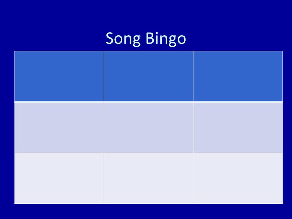 Song Bingo