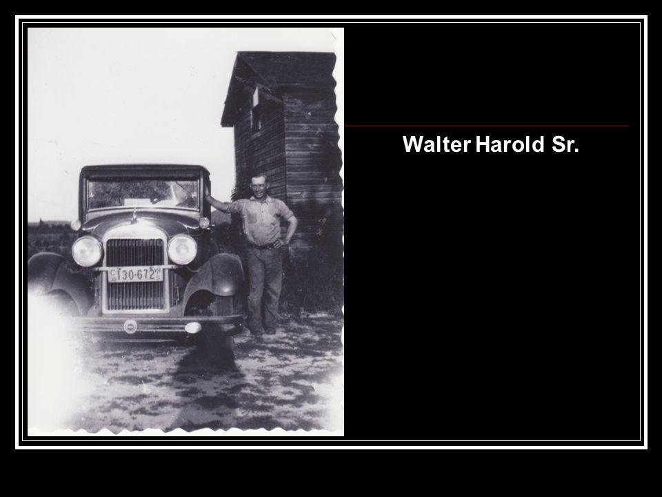 Walter Harold Sr.