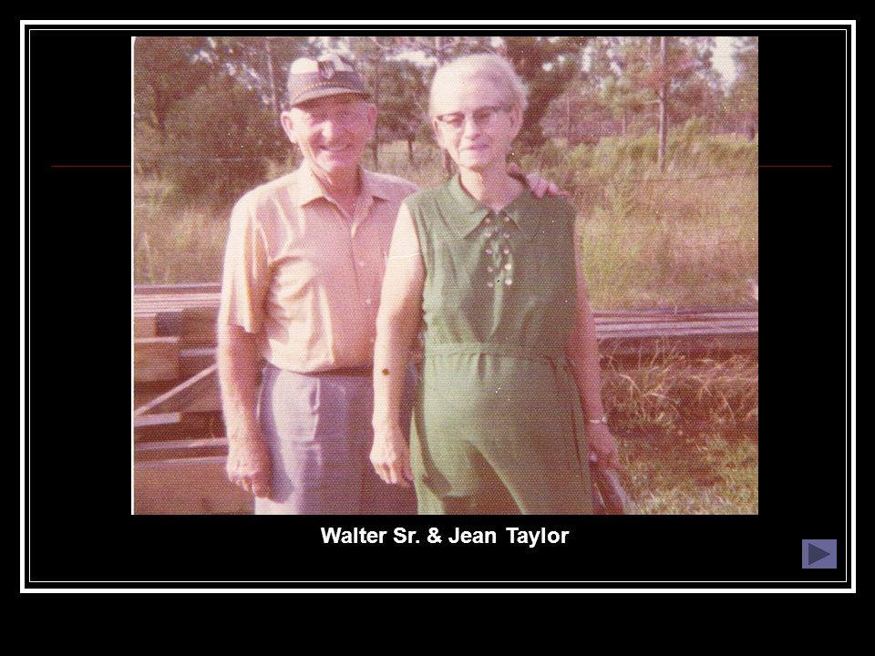 Walter Sr. & Jean Taylor