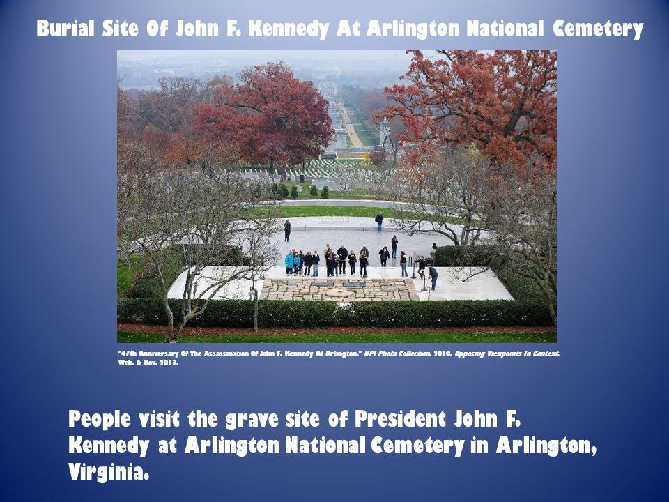 Burial Site Of John F.
