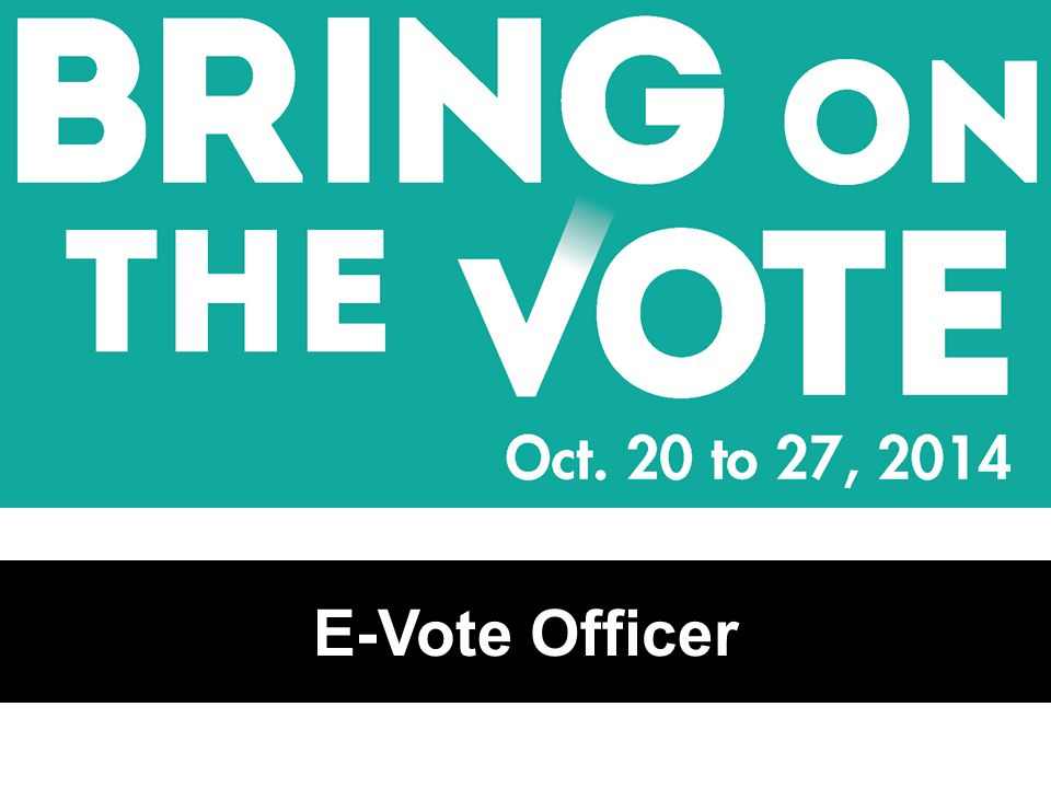 E-Vote Officer