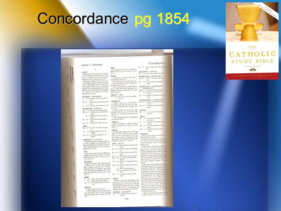 Concordance pg 1854