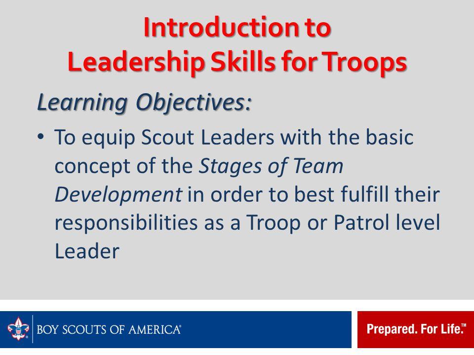 Leadership Exercise III