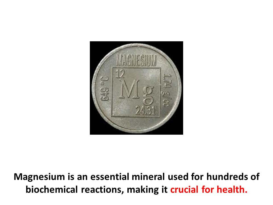 Autism and Magnesium Deficiency