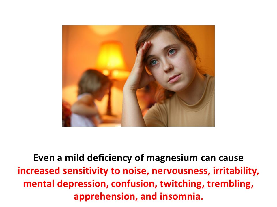 Magnesium is considered the anti-stress mineral.
