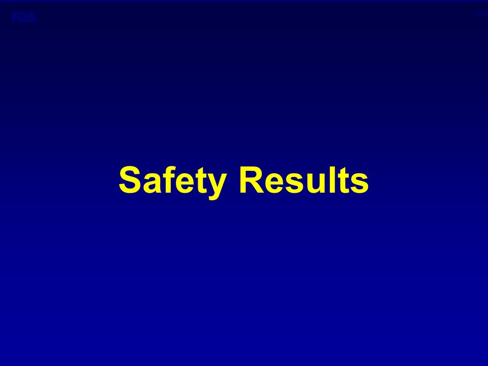 CBER Safety Results