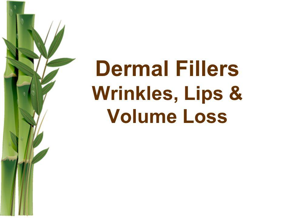 Dermal Fillers Wrinkles, Lips & Volume Loss