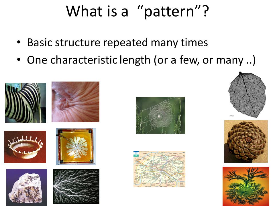What is a pattern .