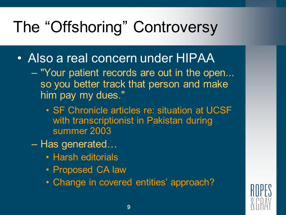 10 New HIPAA Wrinkles on Traditional Legal Issues