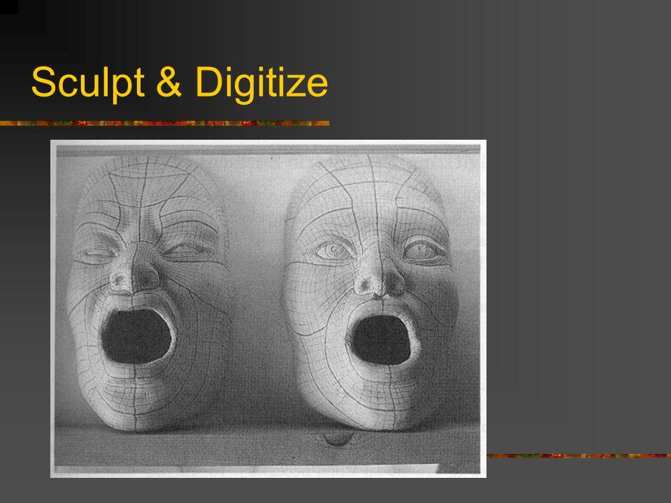 Sculpt & Digitize