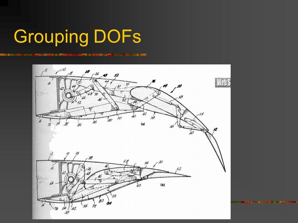 Grouping DOFs