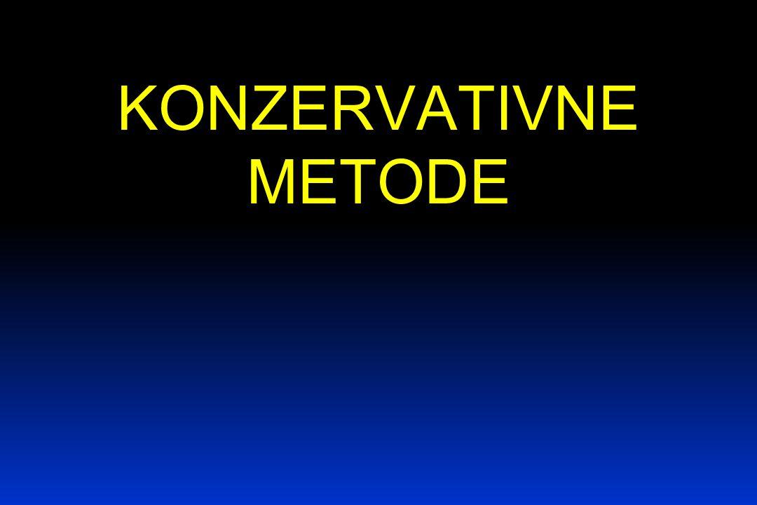 KONZERVATIVNE METODE