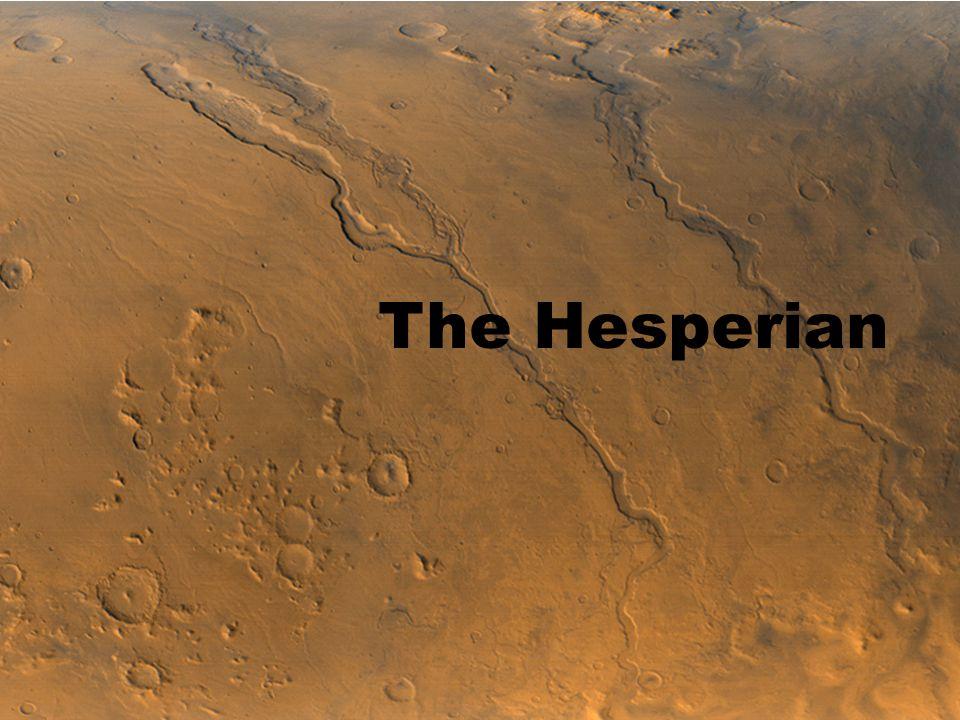1 The Hesperian