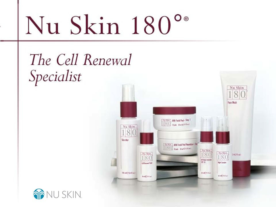 © 2001 Nu Skin International, Inc Nu Skin 180°Cell Renewal Fluid Nu Skin 180° Cell Renewal Fluid, now with PHAs, gently but effectively accelerates cell renewal, diminishing lines and wrinkles, smoothing texture, and minimizing pore size.