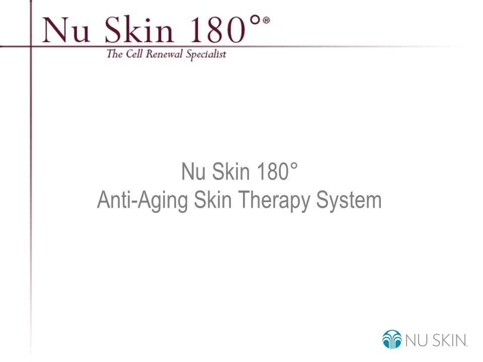 © 2001 Nu Skin International, Inc Nu Skin 180 ° Anti-Aging Skin Therapy System