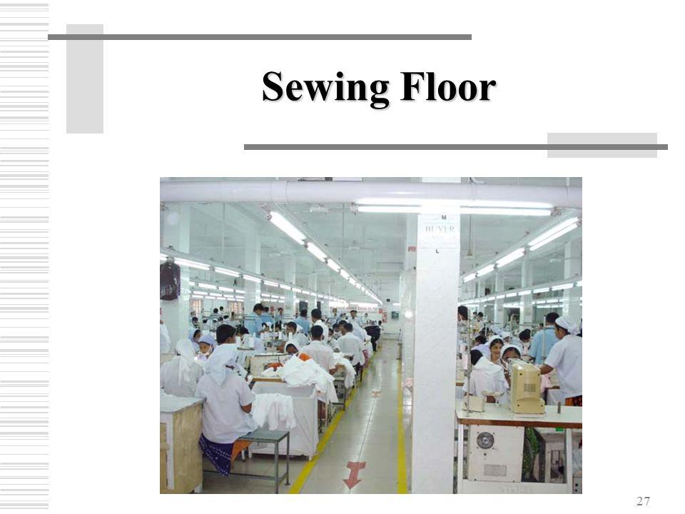 27 Sewing Floor