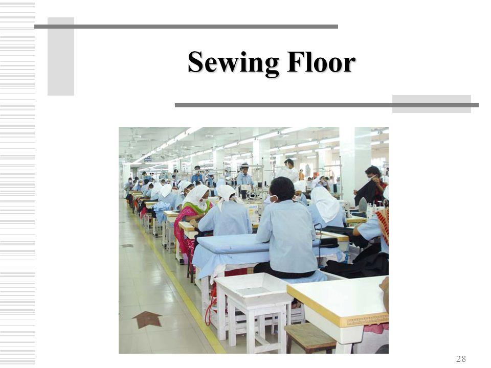 28 Sewing Floor