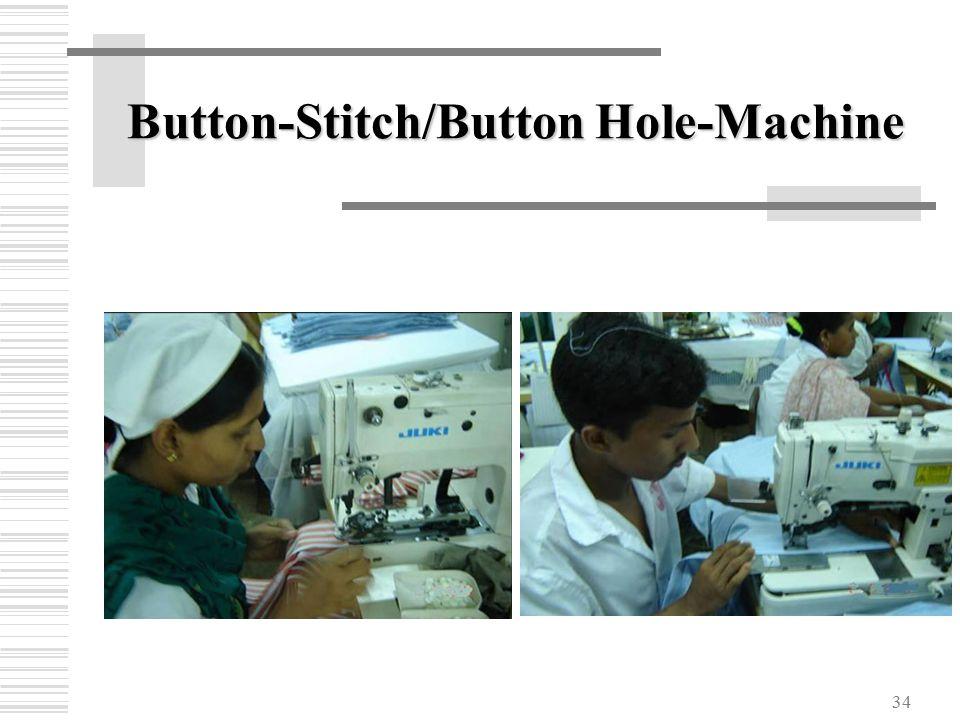 34 Button-Stitch/Button Hole-Machine