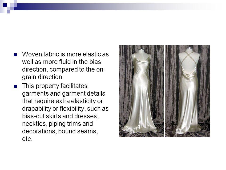 Plain Weave Characteristics of Plain Weave  It is snag resistant.