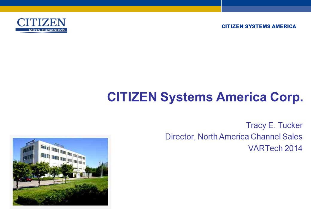 CITIZEN SYSTEMS AMERICA Apple iOS Bluetooth ® Bluetooth for connection to Apple iOS devices (iDevices) Apple Bluetooth Apple BYOD applications Anyone who wants to print from some form of wireless i-device The secret sauce is in the application development (Value) A manufacturer of printers needs to provide connectivity and TOOLS.