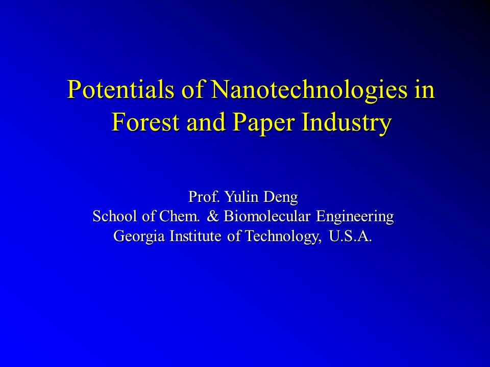 Vijay Mathur, 2004 TAPPI Paper Summit, May 3-5, 2004, atlanta, GA, USA Nanostructured Filler Engineering Nanosilicate Fibril Fillers