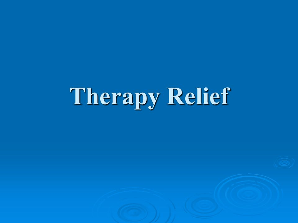 Therapy Relief