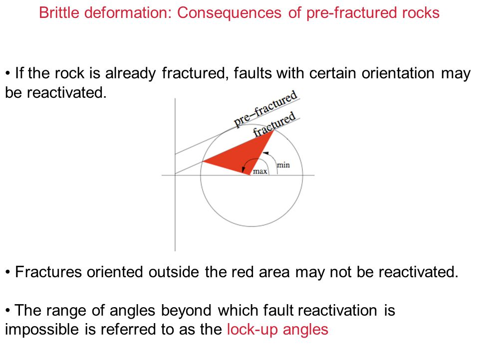 Brittle deformation: Mechanics of low angle faults The problem: is how to force a very thin sheet to slide as a (almost) rigid body without causing internal faulting.