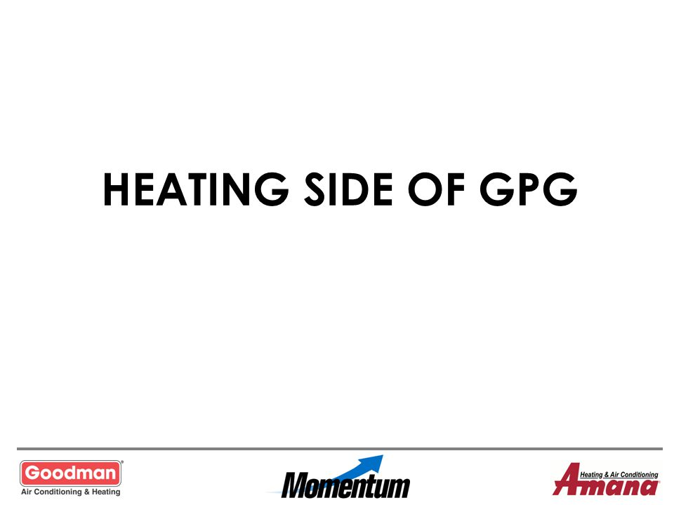 HEATING SIDE OF GPG