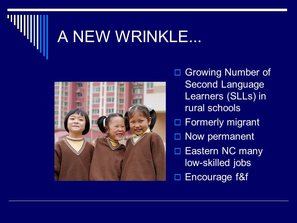 A NEW WRINKLE...