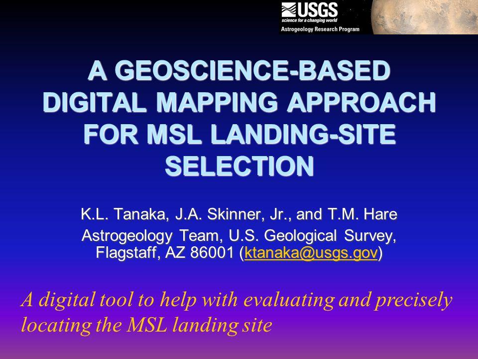 May 31, 2006 MSL Site Selection Workshop, Pasadena CA12 sample MSL GIS science criteria map