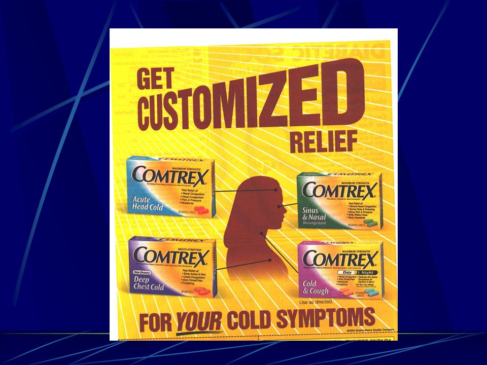 For those suffering from a cold, Comtrex offers four different relief formulas that treat and work against your specific cold ailments.