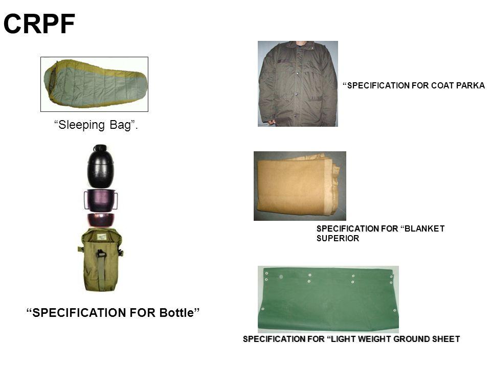 Sleeping Bag .