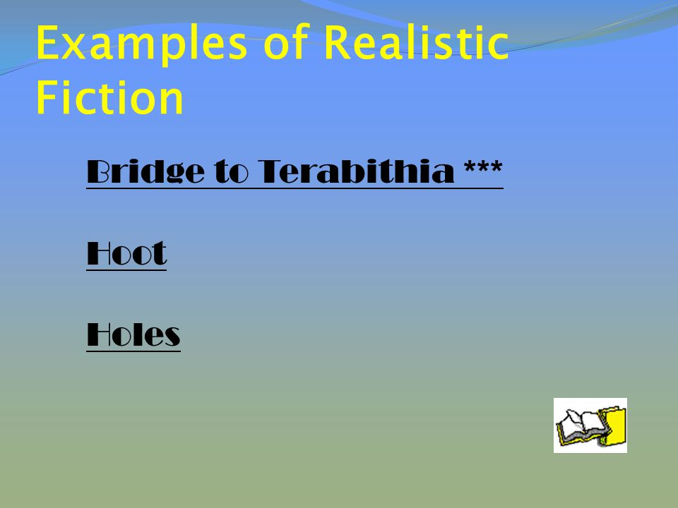 Non- Fiction Literature which is true and based on facts and reality.