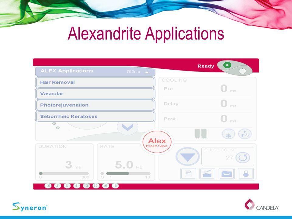 Alexandrite Applications