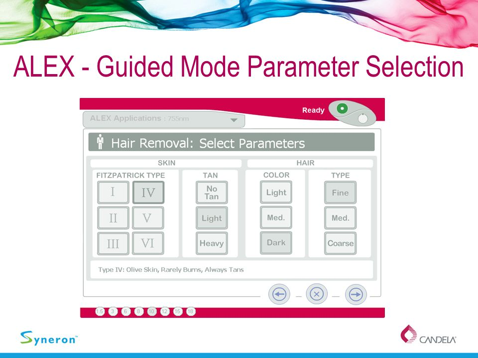 ALEX - Guided Mode Parameter Selection