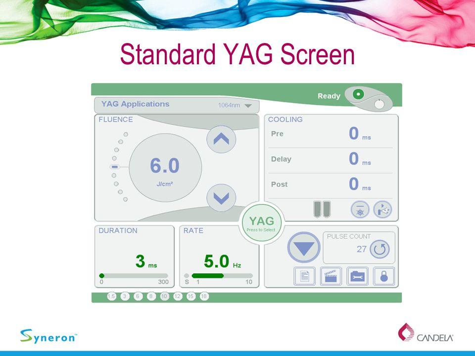 Standard YAG Screen