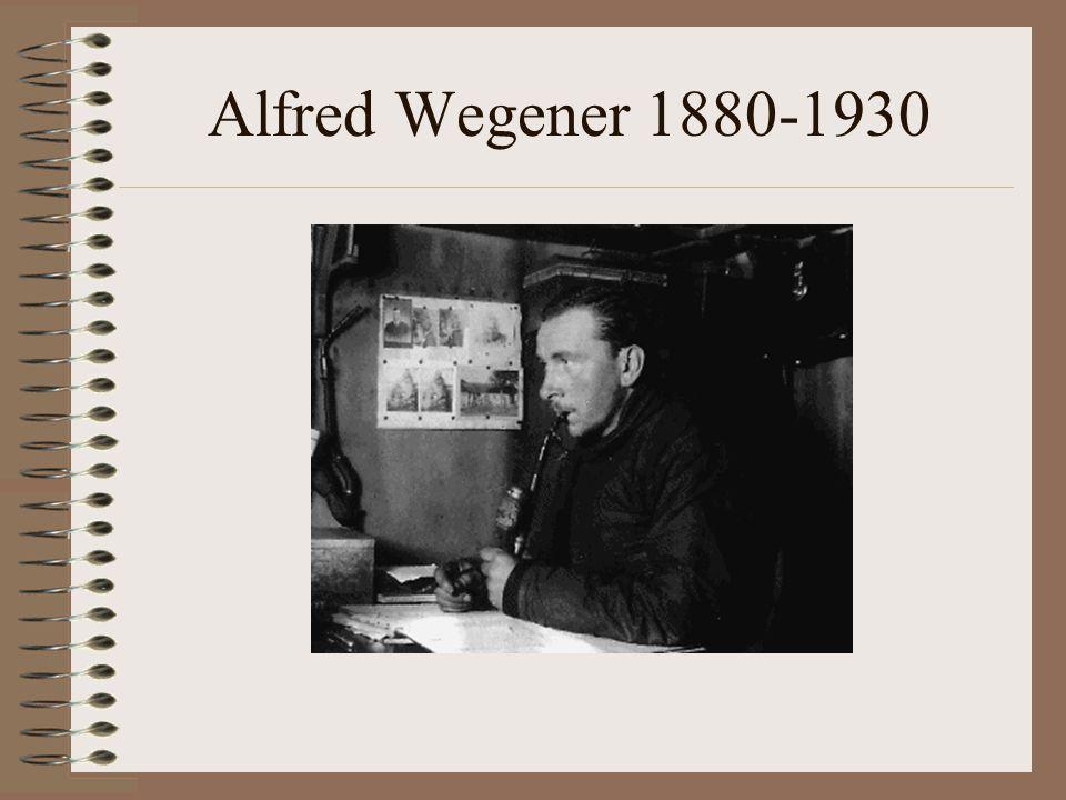 Alfred Wegener 1880-1930