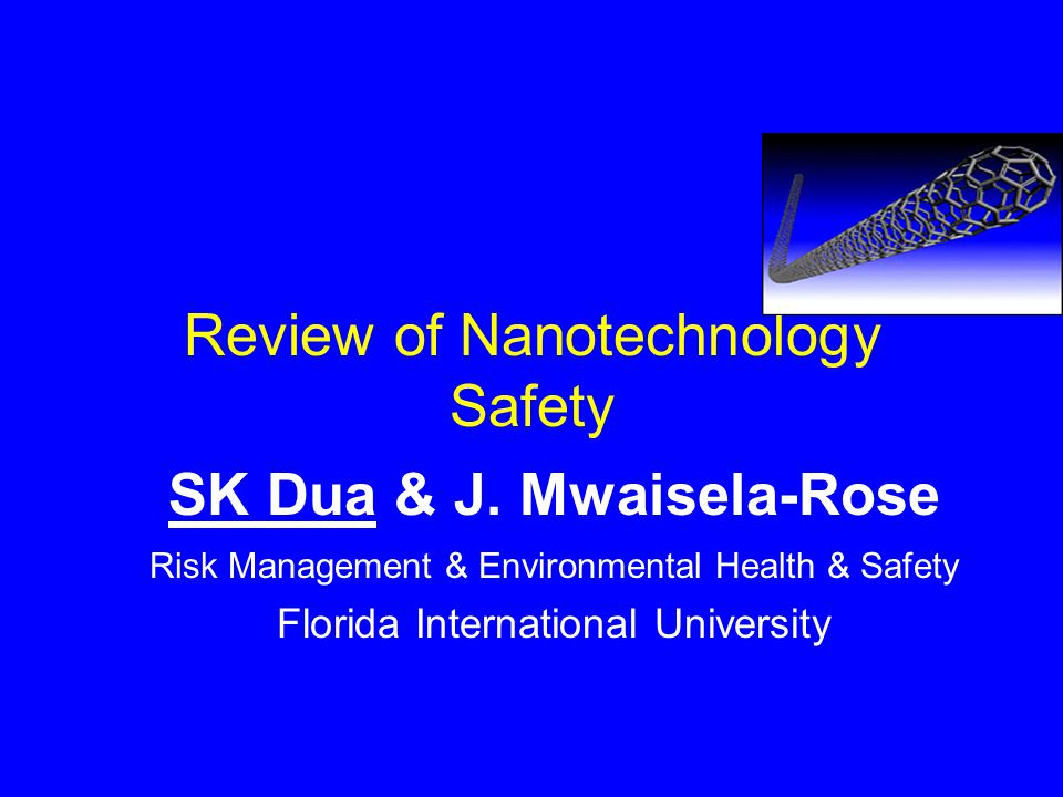 Applications… Nano-electromechanical sensors identify a chemical warfare agent.