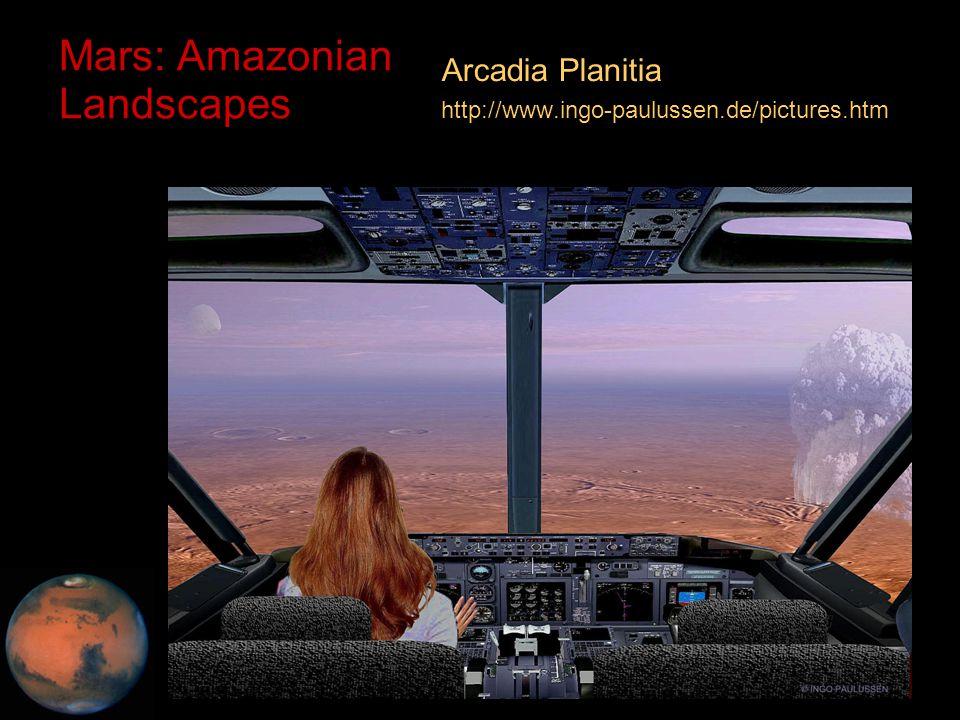C.M. Rodrigue, 2014 Geography, CSULB Mars: Amazonian Landscapes Arcadia Planitia http://www.ingo-paulussen.de/pictures.htm