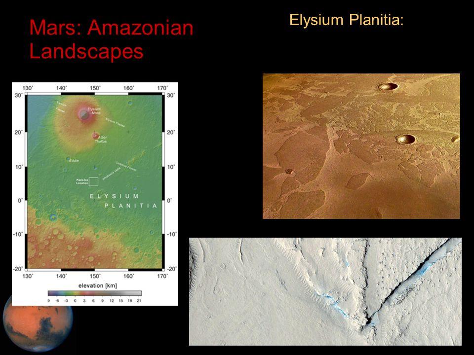 C.M. Rodrigue, 2014 Geography, CSULB Mars: Amazonian Landscapes Elysium Planitia: