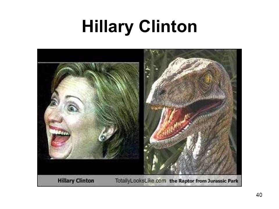 Hillary Clinton 40