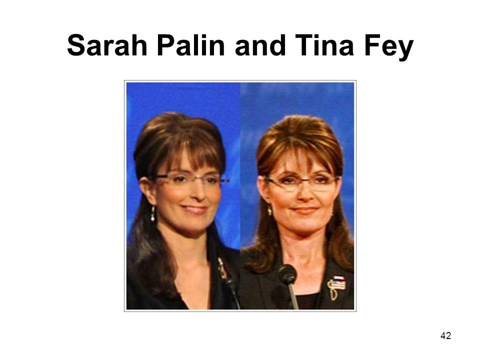 Sarah Palin and Tina Fey 42