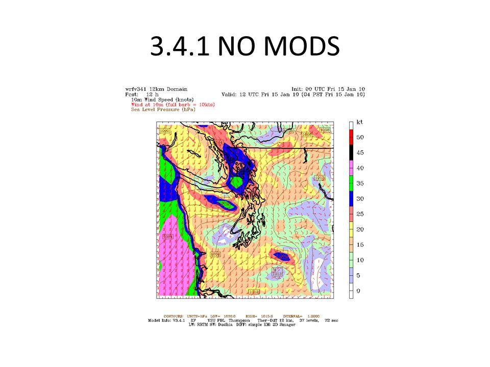 3.4.1 NO MODS