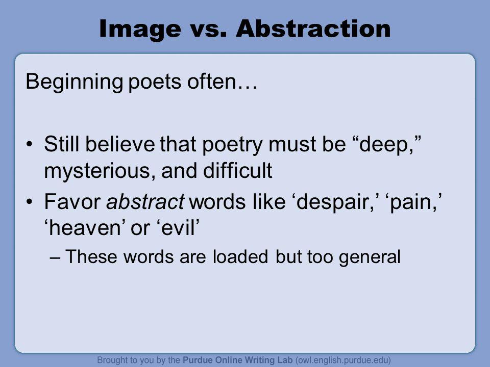 Image vs.
