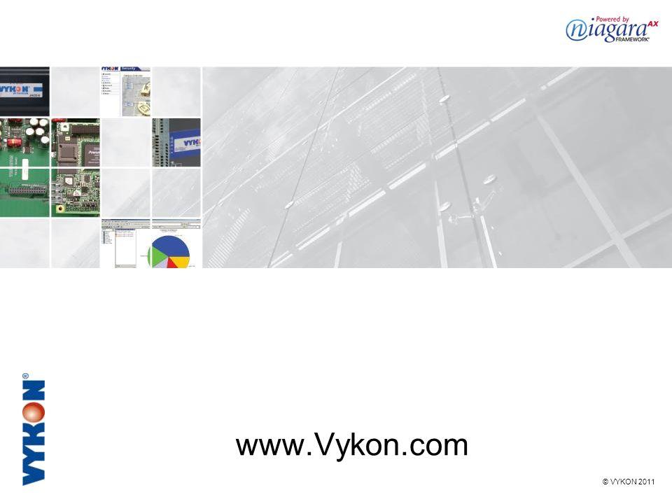 © VYKON 2011 www.Vykon.com